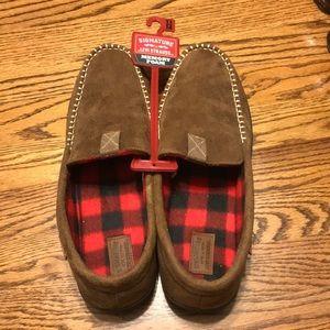 Levi Strauss memory foam slippers